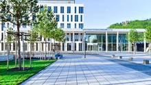 Der Eingang desUniversitätklinikumsJena