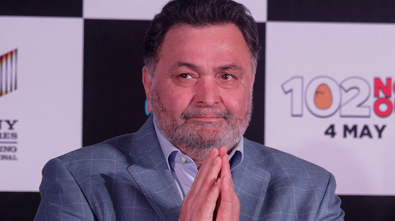 Bollywood-Star tot: Rishi Kapoor spricht auf einer Veranstaltung