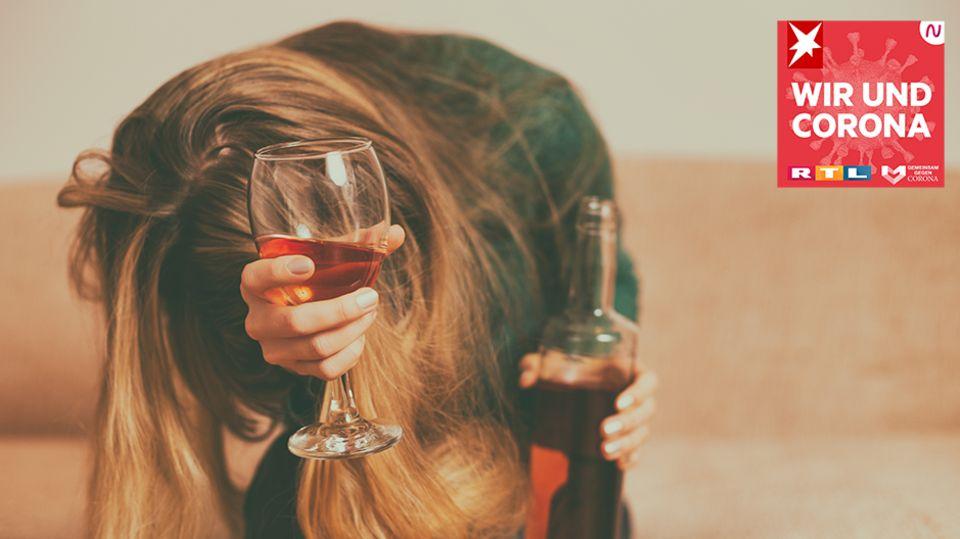 """""""Wir und Corona"""": Alkoholsucht in Zeiten der Coronakrise: """"Abschalten kann ich nur mit einer Flasche Wein"""""""