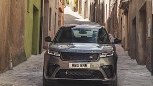 Range Rover Velar verwendet im Innenraum des Velar neue Stoffarten
