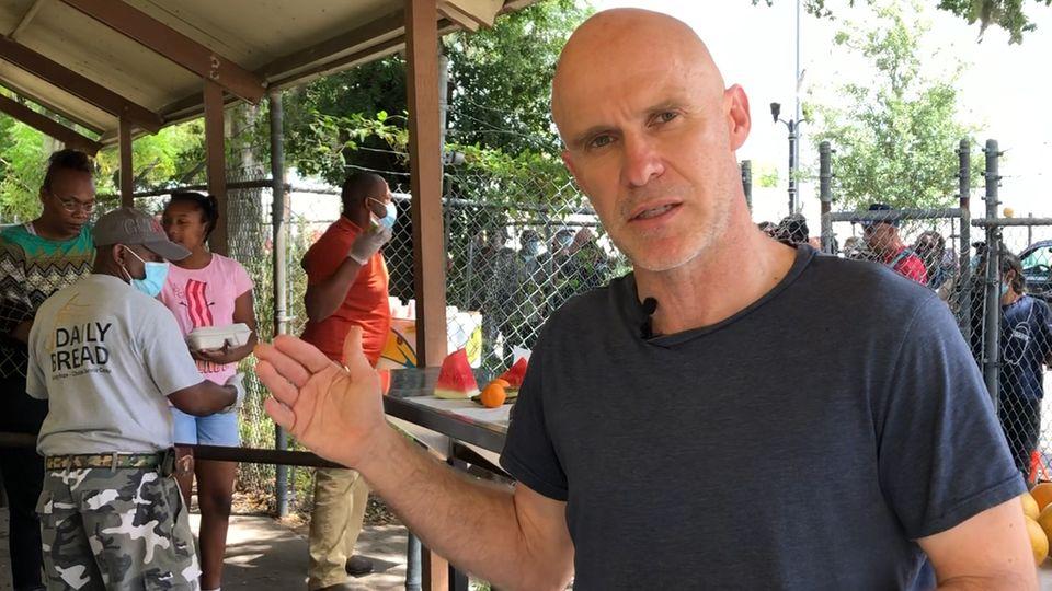 stern-Korrespondent Jan-Christoph Wiechmann berichtet über die wirtschaftliche Lage in Orlando, Florida.