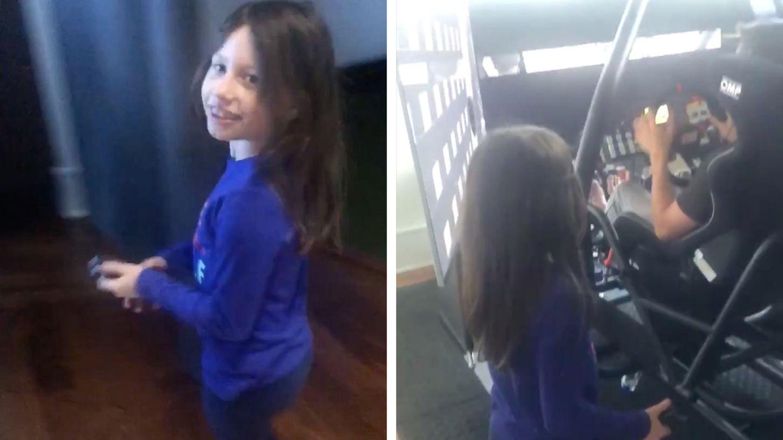 NASCAR-Fahrer wird von siebenjähriger Tochter aus Versehen ausgeschaltet