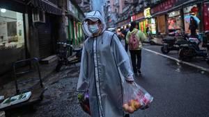 Einkaufen in Wuhan, Mitte April