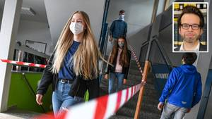 Corona-Alltag in der Schule - Malte Thießen eingeklinkt
