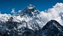 Blick auf den Mount Everest