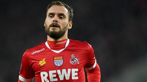 Corona - Birger Verstraete vom 1.FC Köln