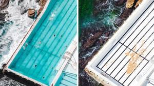 Bondi Icebergs Pool: Vorher-Nachher-Fotos