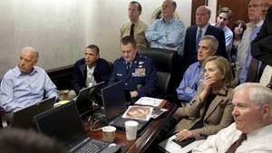 Dieses Foto veröffentlichte das Weiße Haus nach der Tötung von Osama bin Laden durch die US-Armee