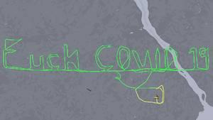 """""""Fuck Covid 19"""": Pilot """"schreibt"""" Anti-Corona-Botschaft in den Himmel"""