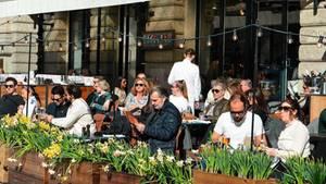 Ohne Abstand: Stockholm im Frühling