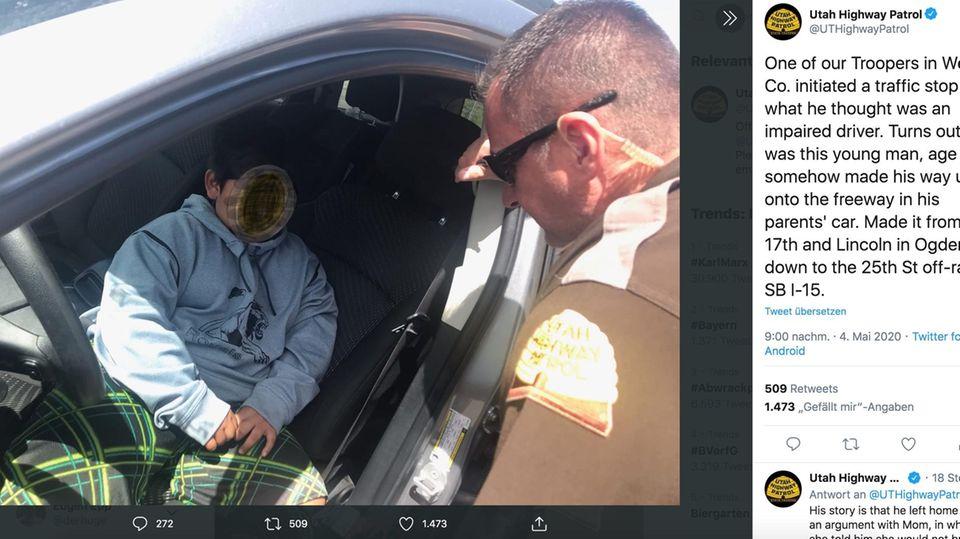 US-Bundesstaat Utah: Auf Highway gestoppt: Fünfjähriger wollte so gern Lamborghini fahren - jetzt wurde sein Traum wahr