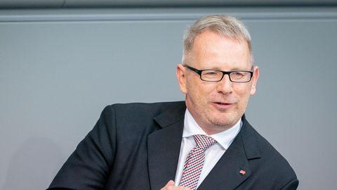 Johannes Kahrs 2019 im Bundestag