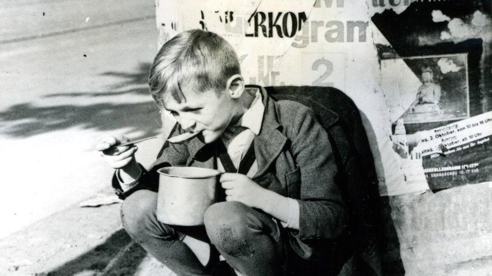 Hunger in Nachkriegsdeutschland