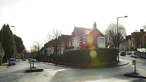 Ein Blick in die Ninian Road