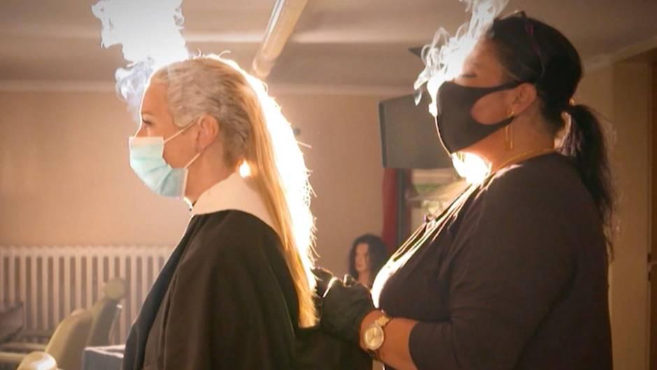 Corona-Lockerungen : Experiment  beim Friseur: Wann ist das Ansteckungsrisiko besonders hoch?