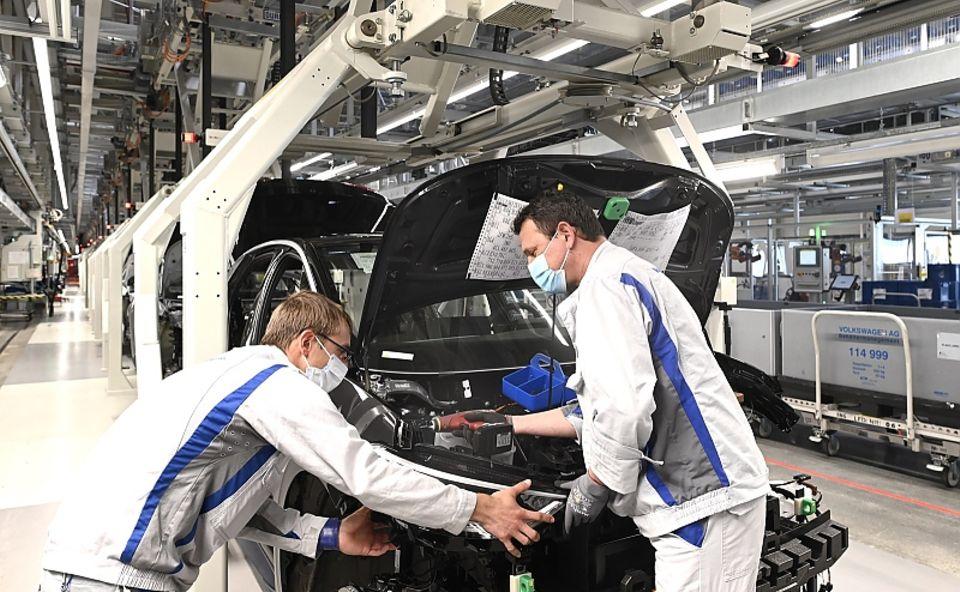 Volkswagen ID.3-Fertigung in Zwickau
