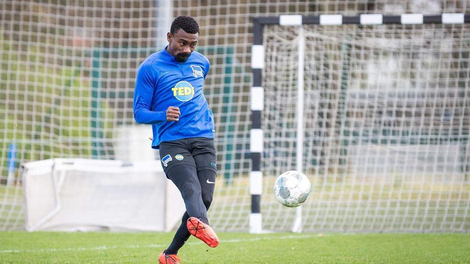 Salomon Kalou beim Training