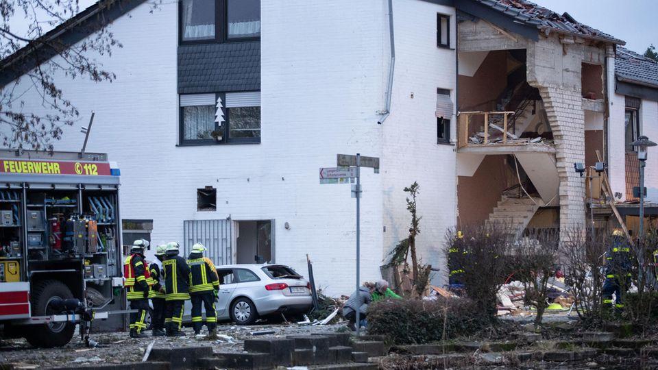 nachrichten deutschland - gasexplosion lienen