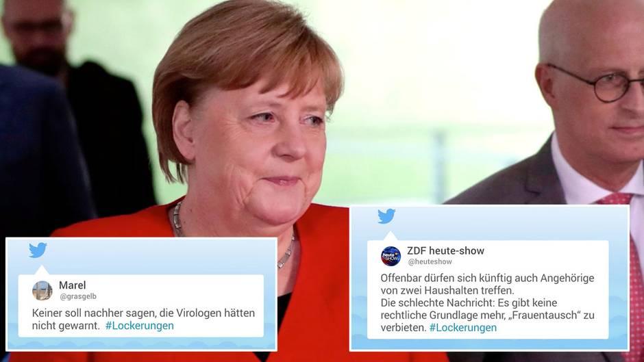 """#Lockerungen und Angela Merkel: """"Schaut ihr auch gerade das Staffelfinale von 'Coronakrise'?"""""""