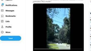 Ein Bildausschnitt des Twitter-Videos