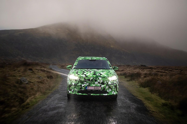 Mit dem Škoda Enyaq im irischen Regen unterwegs