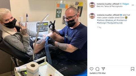 Melanie Müller erntet Kritik für Instagram-Foto