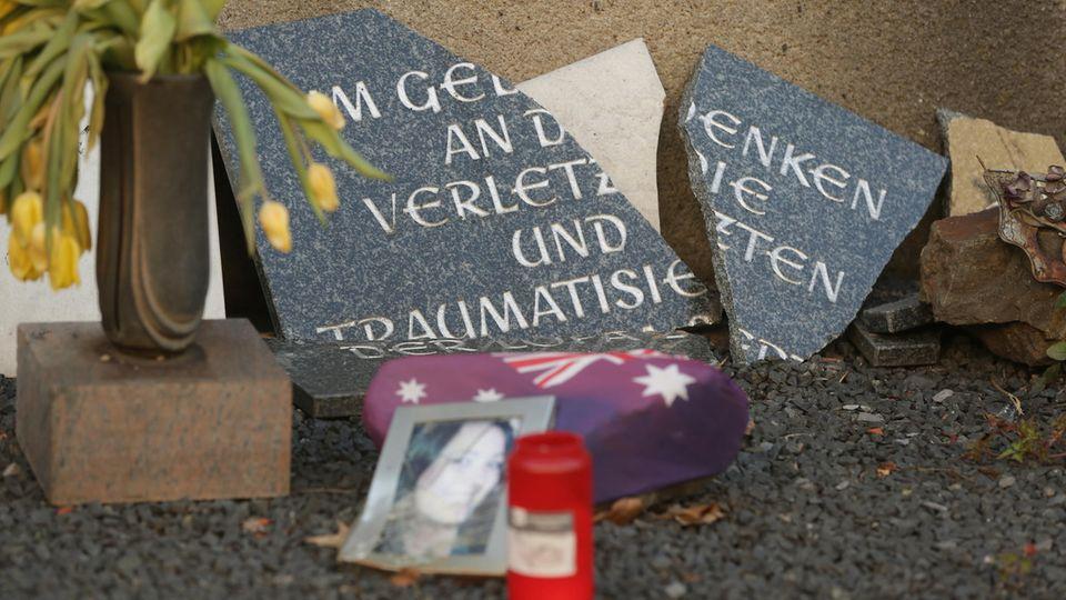 Die Loveparade-Gedenkstätte in Duisburg wurde beschädigt.