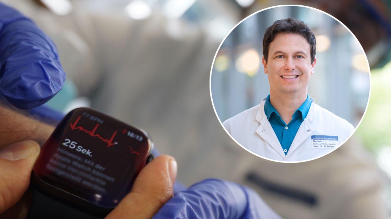 """Kardiologe über Smartwatches: """"In Zeiten von Corona können Wearables einen wichtigen Beitrag leisten"""""""