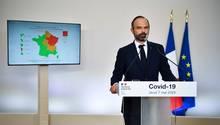 Premierminister Edouard Philippe erklärt den Franzosen, welcheCorona-Maßnahmen ab Montag gelockert werden