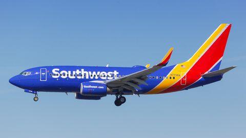 Eine Maschine des Typs Boeing 737-700 von Southwest Ailines, die in den Zwischenfall in Austin verwickelt war