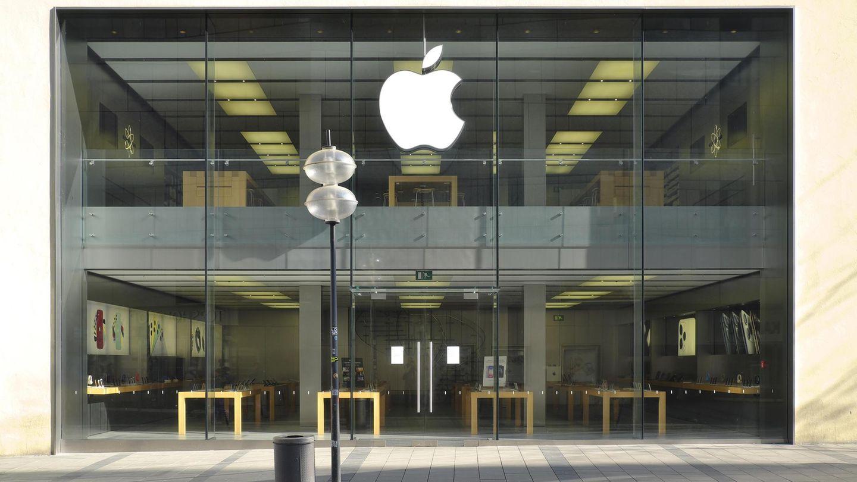 Der Apple Store in der Rosenheimer Straße in München ist bislang geschlossen.