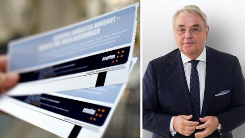 Klaus-Peter Schulenberg ist Gründer und Vorstandsvorsitzender von Eventim