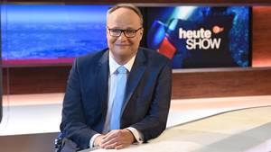 """""""Leicht pastorlaes Schlusswort"""": Oliver Welke, Moderator der """"heute-show"""""""