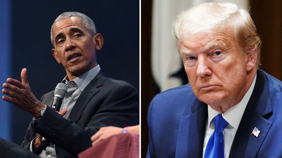 Barack Obama kritisiert Donald Trumps Corona-Krisenmanagement