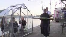 Ein Restaurant in Amsterdam zeigt, dass Stil und Sicherheit kein Widerspruch sein muss.