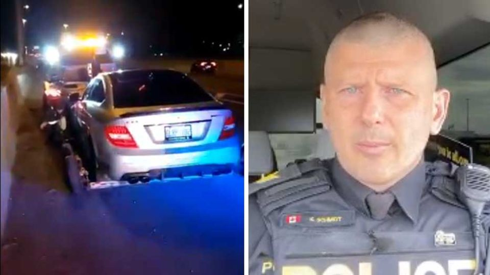 Auto, Polizist