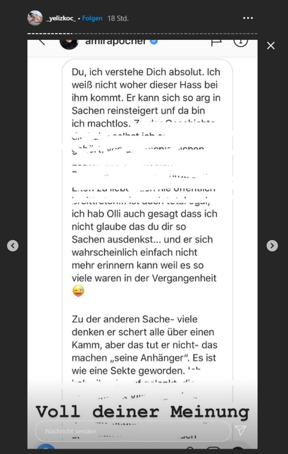 """Streit mit Yeliz Koc: """"Ich weiß nicht, woher der Hass kommt"""": Amira Pocher fällt ihrem Mann fies in den Rücken"""