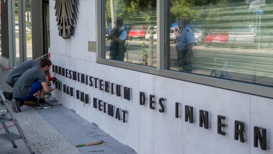 DasBundesministerium des Innern in Berlin