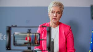 Ministerpräsidentin Manuela Schwesig von der SPD