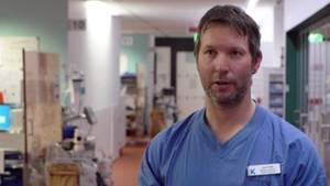 Der schwedischer Arzt Dr. Lars Falk berichtet aus einer Intensivstation in Stockholm.