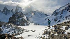 Laguna Torre Trek, Argentinien  Vom Basislager des El Chaltén in den hohen Anden aus kann man direkt in die Berge des Parque Nacional Los Glaciares wandern, einem Unesco-Naturerbe voller Gletscher. Der Trip dauert 5 bis 7 Stunden, Schwierigkeitsgrad moderat.