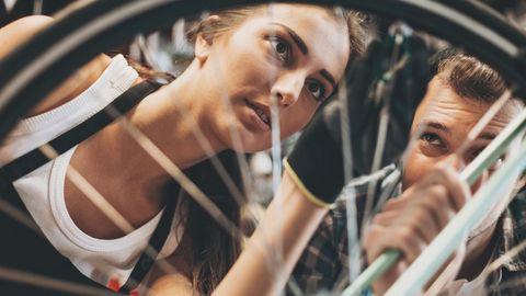 Ein älteres Rad muss penibel geprüft werden. Eine Instandsetzung inder Fachwerkstatt macht den Gebrauchtkauf unattraktiv.