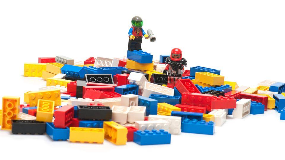 Lego mit Astronauten-Figuren