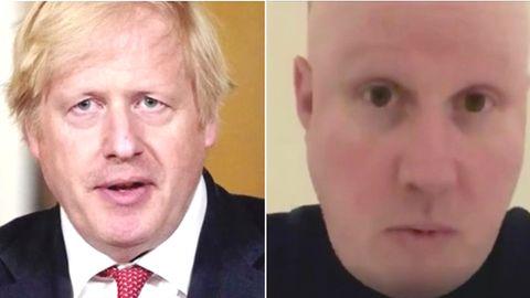 Collage: Boris Johnson, Matt Lucas
