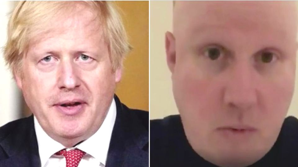 Collage: Boris Johnson, Matt Lucas