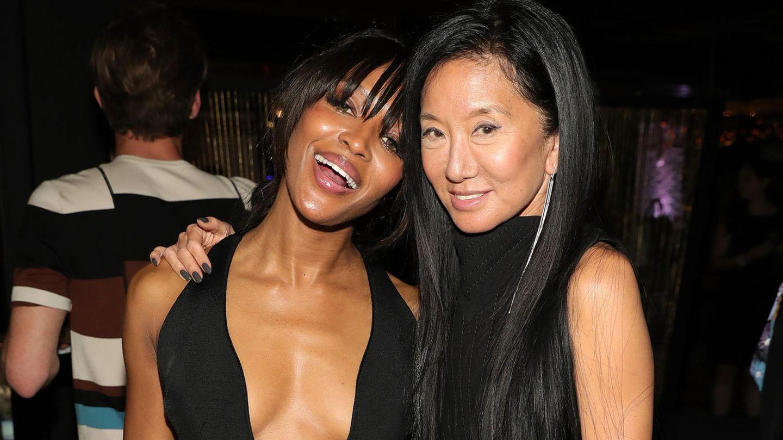 Naomi Campbell und Vera Wang
