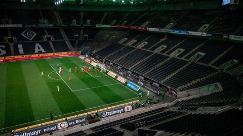 Geisterspiel in der Fußball-Bundesliga wegen des Coronavirus
