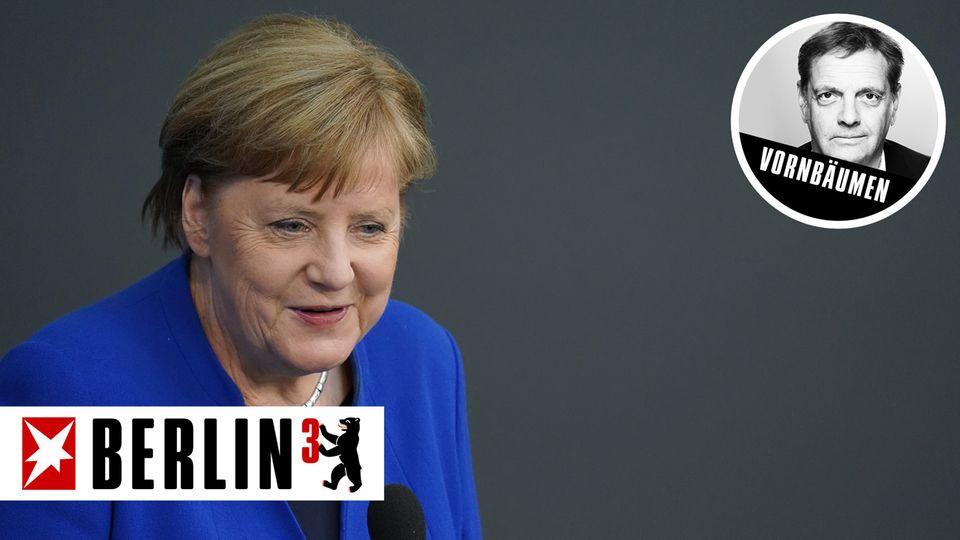 Stand bei der Regierungsbefragung am Mittwoch Rede und Antwort: Kanzlerin Angela Merkel