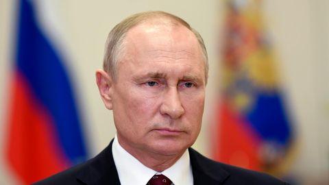 Russland, Moskau: Der russische Präsident Wladimir Putin