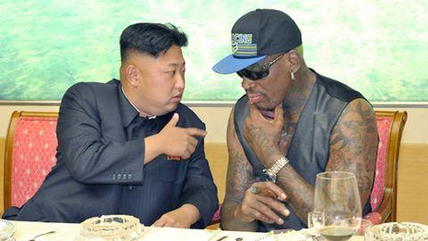 Dennis Rodman erzählt von seinem ersten Besuch bei Kim Jong-un